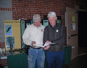 VT Chapter Display at 2008 VT Farm Show in Barre, VT