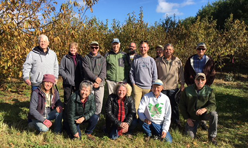 Chestnut Orchard Tour at Pryor Farm in Western North